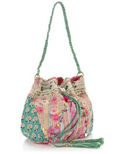patchwork duffle bag...accessorize