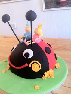 Ben, Holly & Gaston Cake