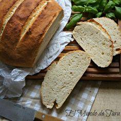 Receta de Pan casero esponjoso - Paso 6 Types Of Bread, Pan Bread, Empanadas, Bread Recipes, Veggies, Homemade, Food And Drink, Baking, Cookies