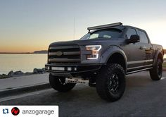 Our Friends at @anzogarage with our NEW M-RDS Bumper on their F150. #twitter #Repost @anzogarage  Hard not to stop and take pictures