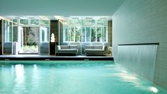 Waldorf Astoria Hotel, Amsterdam - Indoor Pool at the Guerlain Spa