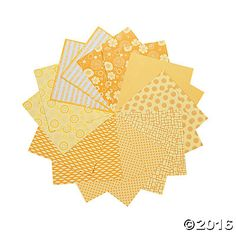 Yellow Mono Paper Pack
