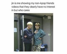 I am Jin. #sorry #notsorry I'm just going to stop trying