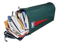 6 Steps to get off mailing lists to STOP Junk Mail - Step 1) Stop the Flow. 2) No more credit card applications. 3) Deal with unwanted phone books and catalogs... ""