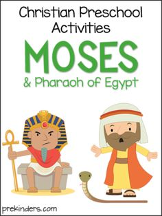 Christian preschool activities: Bible stories, holidays, songs, and more. Preschool Bible Lessons, Bible Activities For Kids, Preschool Programs, Bible Stories For Kids, Bible Lessons For Kids, Preschool Activities, Christian Preschool, Christian Kids, Moses Bible Crafts