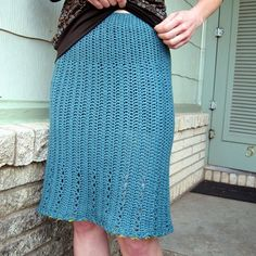 Linda Permann Lace Skirt PDF in New Crochet Patterns at Webs