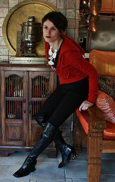 Fluevog Baroque boots. Terrific!