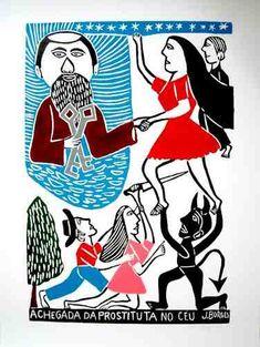 prostituta no ceu2 JBorges Arte Popular Do Brasil