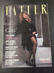 Tatler-Magazine-Feat-Tina-Turner-September-1986