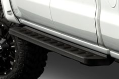 Image may not reflect your exact vehicle! Go Rhino® - RB10 Black Running Boards