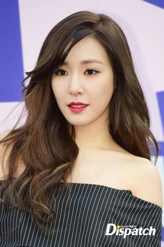 Hearts are flying with SNSD's Tiffany at SJYP's Event