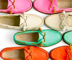 Sperrys. Always Sperrys.