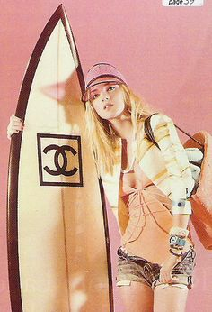 Chanel - very ready for summer!