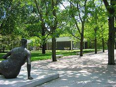 Miller Garden -- Columbus, Indiana   Dan Kiley.