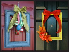 Holiday Wreath Alternatives