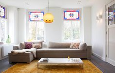 [CasaGiardino]  I don't mind remodeling an old home with a contemporary aesthetic...however, the end result here was textbook for me.  I would have left the rafters exposed just to add that little nod to the origins of the house.  Bianca  (My Houzz: Turning a Netherlands Barn Into a Country Home)