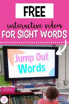 Sight words are a foundational part of your kindergarten, 1st grade, and 2nd grade students learning how to read. One of the best and engaging ways for your students to learn their sights words is through music and movement. Read this blog post to learn more about my favorite FREE video resources for learning sight words. You'll love these reading ideas, and so will your elementary students! Kindergarten Sight Words List, Learning Sight Words, Sight Word Practice, Sight Word Games, Kindergarten Teachers, Learning Resources, Student Learning, Fry Sight Words, Fluency Practice
