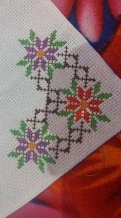 Biscornu Cross Stitch, Cross Stitch Fruit, Cross Stitch Pillow, Cross Stitch Baby, Cross Stitch Flowers, Cross Stitch Kits, Cross Stitch Designs, Cross Stitch Patterns, Hand Embroidery Design Patterns