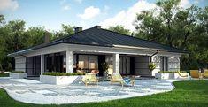 51 Ideas For Exterior House Bungalow Home Plans Bungalow Homes, Bungalow House Plans, Bungalow House Design, Modern House Design, House Plans Mansion, Dream House Plans, Home Building Design, Building A House, Casa Top