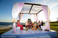 Marvelous destination wedding ceremony.