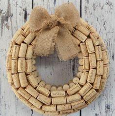 Cork Wreath  [SOURCE]