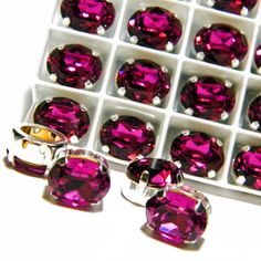 """This Etsy site has many sew on rhinestones for jewelry making--Can search Etsy for more shops with similar products by typing in """"sew on rhinestones in settings"""""""