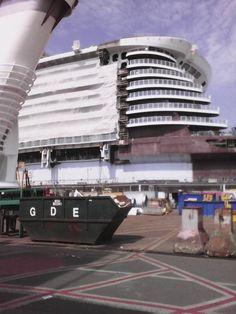 Harmony of the Seas construction June 10 2015