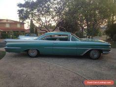 1959 Oldsmobile Ninety Eight Holiday Sceni-Coupe. #oldsmobile #forsale #australia