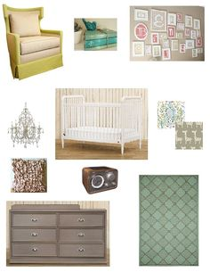 FB Mood Board Liberty   #projectnursery #franklinandben #nursery