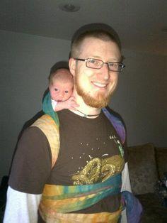 Daddy Wrapsody #babywearing!