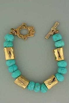 ❤❤❤ Gold and Turquoise