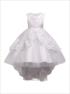 Cheap girls princess dress, Buy Quality kids party dresses directly from China princess dress Suppliers: Girls Clothes Pearl Embroidery White Wedding Dress Children Christmas clothing Kids Party Dress baby Girls Princess dress Princess Flower Girl Dresses, Baby Girl Party Dresses, Princess Dress Kids, Wedding Flower Girl Dresses, Girls Pageant Dresses, Girls Formal Dresses, White Wedding Dresses, Little Girl Dresses, Princess Girl