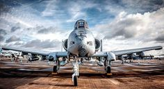 A-10 Thunderbolt II #military #armedforces #aircraft #aviation #airforce #usaf #a10 #thunderbolt #warthog (📸: @george.roberts._) http://ift.tt/2hOnsya
