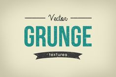 Vector Grunge Textures by AzmariDigitals on Creative Market