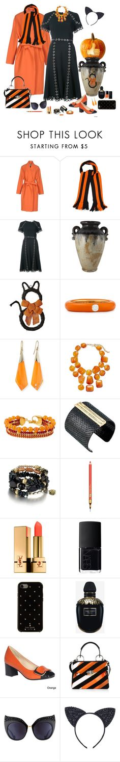 """Work day look 🎃"" by deborah-518 ❤ liked on Polyvore featuring By Malene Birger, adidas, Jonathan Simkhai, Adolfo Courrier, Alexis Bittar, Kenneth Jay Lane, Henri Bendel, The Sak, Estée Lauder and Yves Saint Laurent"