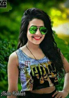 Neha Kakkar h ot Shraddha Kapoor Cute, Sonam Kapoor, Neha Kakkar Dresses, Cute Princess, Famous Singers, Cute Beauty, Indian Bollywood, Indian Celebrities, Girls Dpz