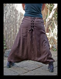 Brown Candy - Harem Pants - Sarouel - Afghan Pants - Aladdin - Hippie Pants by IsNoGoodWear on Etsy https://www.etsy.com/listing/181206454/brown-candy-harem-pants-sarouel-afghan