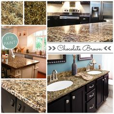 ... Countertop Paint on Pinterest Countertop paint, Diy countertops and