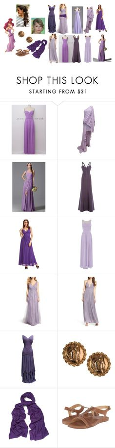 """""""Megara diy costume"""" by emmadolphinatter ❤ liked on Polyvore featuring Elie Saab, Hervé Léger, Little Mistress, Hayley Paige, LULUS, Chanel, WtR and OluKai"""