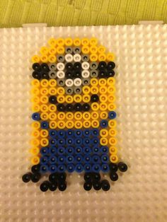 Minion hama beads -  Marine Pixel Art Créations