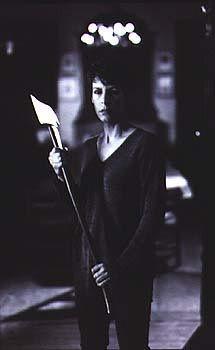 Laurie Strode, the ultimate survivor and accidental badass. Let's just pretend Halloween Resurrection didn't happen...