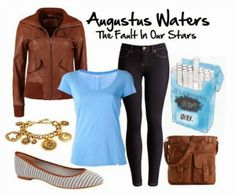 guest post on @Sara Strauss - three outfit inspirations based off of the fault in our stars!