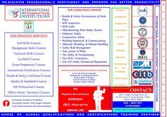 Training &  Skills Development: INTERNATIONAL SKILL DEVELOPMENT TRAINING INSTITUTI...