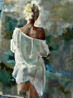 Fanny Nushka Moreaux - Art - Painting Tips Painting People, Figure Painting, Painting & Drawing, Images D'art, L'art Du Portrait, Abstract Portrait, Portrait Ideas, Art Et Illustration, Illustrations