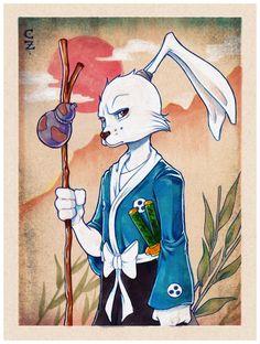 Usagi Yojimbo by chrissie-zullo.deviantart.com on @deviantART