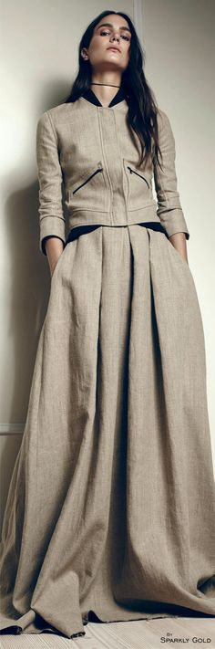 Hellessy Spring 2016 RTW What if the bottoms were culottes or a split skirt?