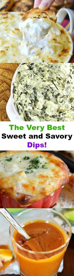INCEDIBLE Sweet and Savory Dip Recipes You Just Have to Try!