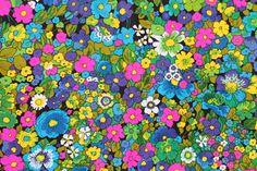 Floral Hawaiian Textiles Fabric Vintage THC by binguspingusart, $60.00