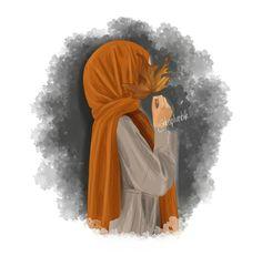 hijab e noor - Hijab Hijab Girly Drawings, Couple Drawings, Cartoon Drawings, Cartoon Art, Cartoon Memes, Cartoon Characters, Hijab Anime, Anime Muslim, Sarra Art