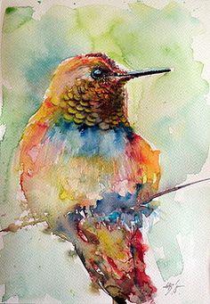 Hummingbird by Kovacs Anna Brigitta